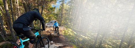 Mountain Biking and Creative