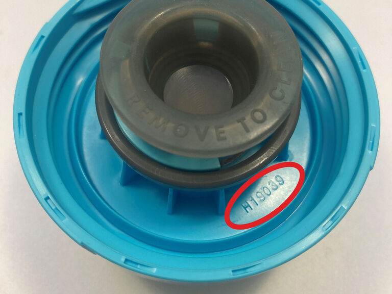 Where to find the date code on Podium Cap, Generation 3