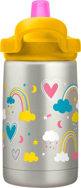 eddy+ Kids 12 oz Bottle, Insulated Stainless Steel
