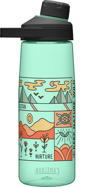 Keep Nature Wild, Chute® Mag 25oz Bottle with Tritan™ Renew plus Cleanup Kit
