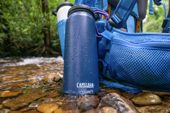 Eddy® + filtered by LifeStraw®, 32oz Bottle, Vacuum Insulated  Stainless Steel