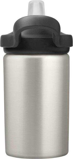 eddy+ Kids 14 oz Bottle, Stainless Steel Single Wall