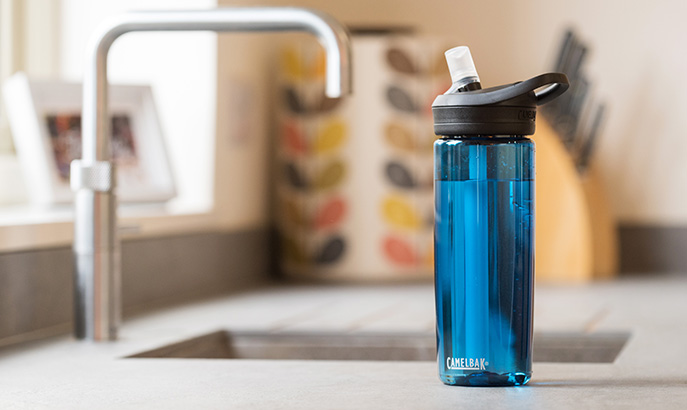 Bottle Resting on Counter